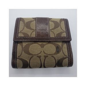 Women's Mono Coach Wallet